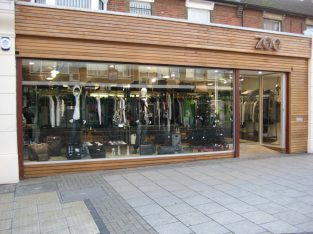 New Shopfront in East London – advshutter