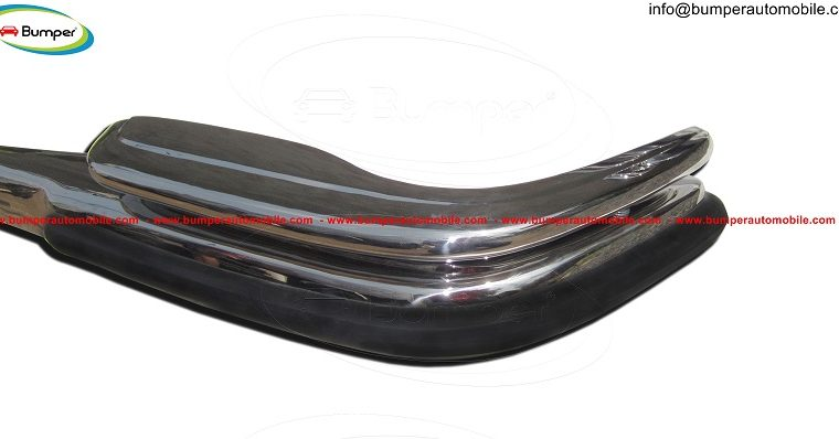 Mercedes W108 & W109 bumper (1965-1973) by stainless steel