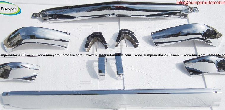 BMW 2002 bumper by stainless steel (1968-1971)